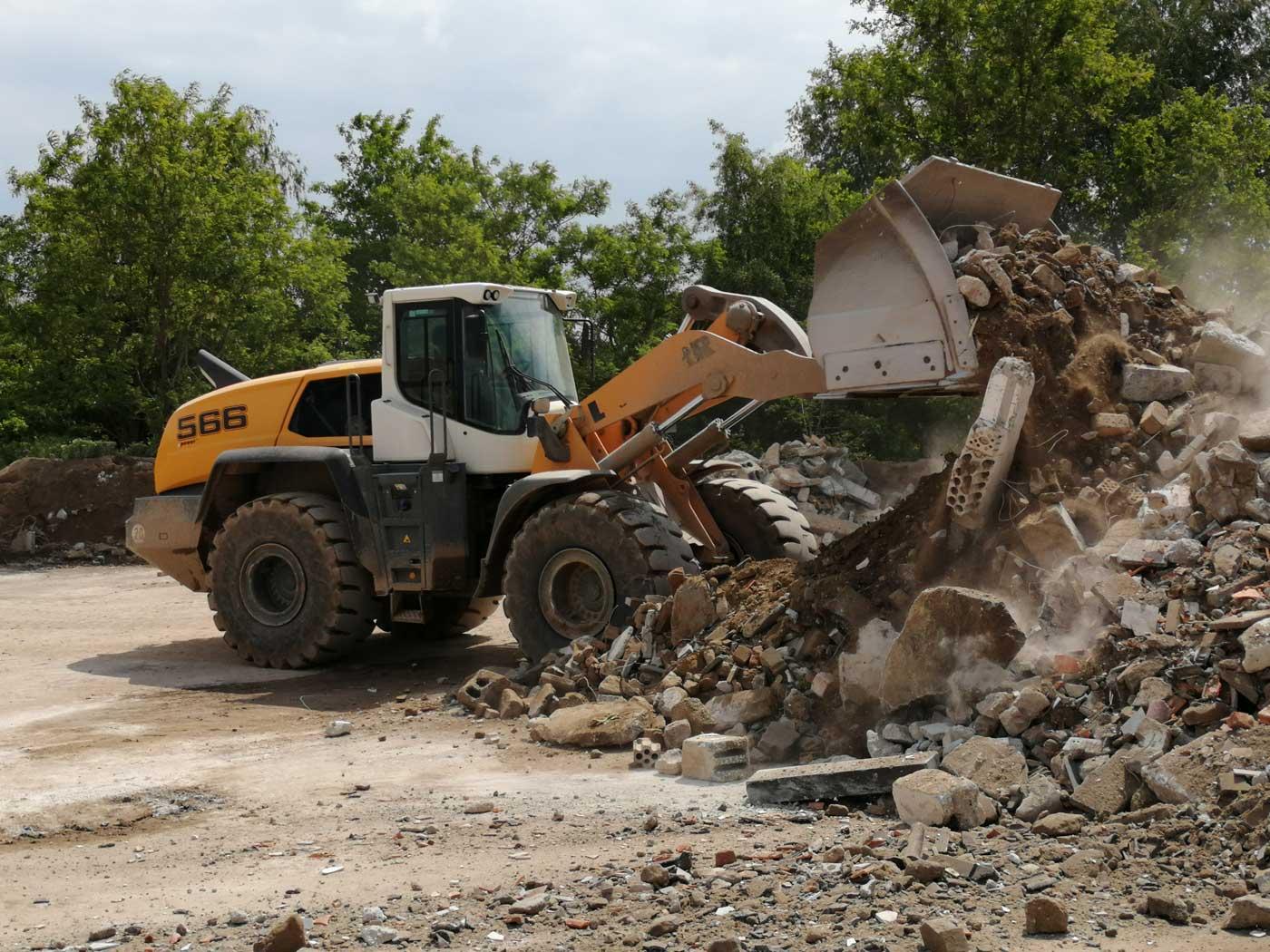Baustoff Recycling Aushubdeponie Beton2go